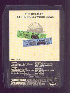 The Beatles' Live at the Hollywood Bowl 8-track.  From friktech.com.